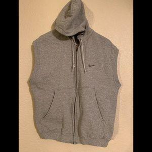 Nike Sleeveless Zip Up Hoodie Size Small like new.